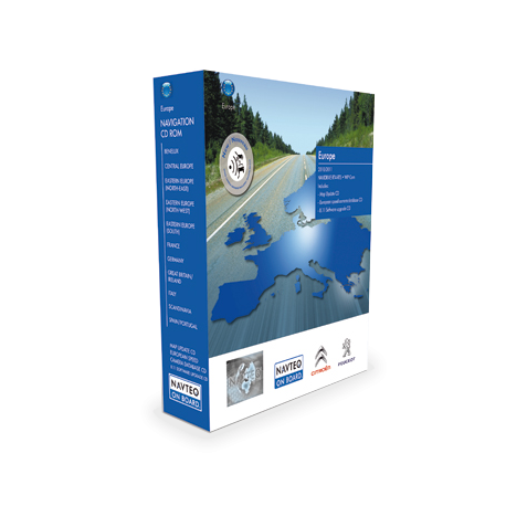 MISE A JOUR NAVIGATION INTEGREE CARTOGRAPHIE EUROPERT3 - Edition 2016/2017HERE (NAVTEQ)