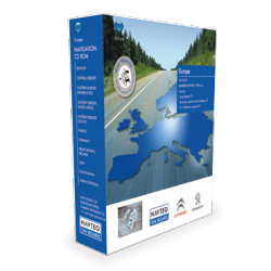 MISE A JOUR NAVIGATION INTEGREE CARTOGRAPHIE EUROPERT4/5 - Edition 2016/2017HERE (NAVTEQ)